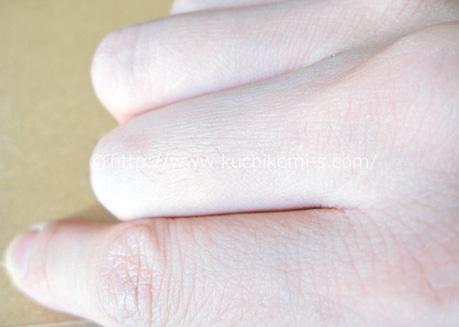 指のムダ毛、一本一本が細くなりました。